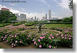 america, chicago, cityscapes, flowers, gardens, grant, horizontal, illinois, north america, park, united states, photograph