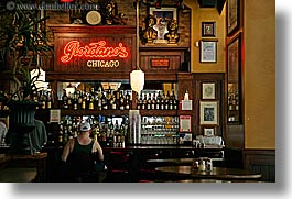 america, bars, chicago, horizontal, illinois, men, north america, signs, united states, photograph