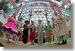 america, chicago, chorus, fisheye lens, horizontal, humor, illinois, navy pier, north america, united states, photograph