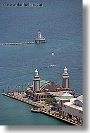 america, chicago, illinois, lighthouses, navy, navy pier, north america, piers, united states, vertical, photograph
