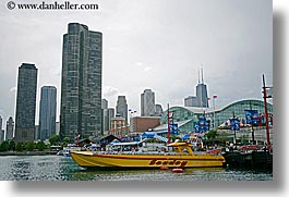 america, chicago, cityscapes, horizontal, illinois, navy pier, north america, seadog, united states, photograph