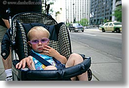america, chicago, childrens, girls, horizontal, illinois, north america, people, purple, sunglasses, united states, photograph