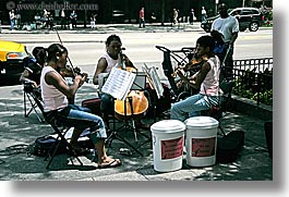 america, chicago, girls, horizontal, illinois, music, north america, people, playing, sisters, united states, violins, photograph