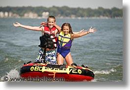 america, boys, families, girls, horizontal, indiana, north america, tubing, united states, photograph