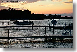 america, horizontal, indiana, lake house, lakes, north america, sunsets, united states, photograph