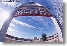 america, arches, horizontal, midwest, missouri, motel, north america, united states, photograph