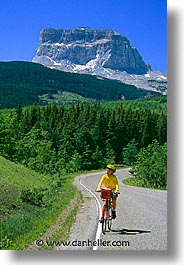 america, backroads, glaciers, jills, montana, national parks, north america, riding, united states, vertical, western united states, western usa, photograph