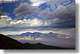 america, clouds, desert, great basin natl park, horizontal, mountains, nevada, north america, united states, western usa, photograph