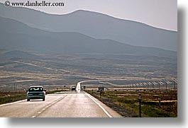 america, cars, highways, horizontal, mountains, nevada, north america, united states, western usa, photograph