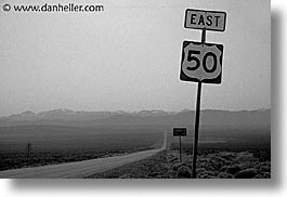 america, highways, horizontal, nevada, north america, signs, united states, western usa, photograph