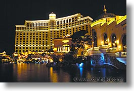 america, bellagio, buildings, casino, horizontal, hotels, las vegas, nevada, north america, the strip, united states, western usa, photograph