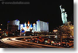 america, casino, horizontal, hotels, las vegas, nevada, new york, north america, the strip, united states, western usa, photograph