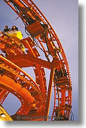 america, coaster, las vegas, nevada, north america, roller, united states, vertical, western usa, photograph