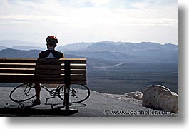 america, bicycles, horizontal, nevada, north america, red rock, rest, united states, western usa, photograph