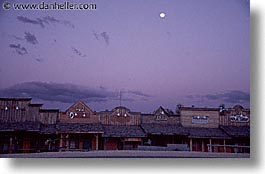 america, horizontal, moon, nevada, north america, over, red rock, towns, united states, western usa, photograph