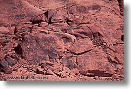 america, climbers, horizontal, nevada, north america, red rock, rocks, united states, western usa, photograph