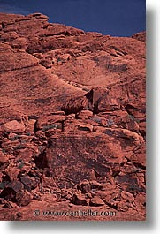 america, climbers, nevada, north america, red rock, rocks, united states, vertical, western usa, photograph
