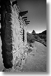 america, bandalier, bandelier, desert southwest, indian country, new mexico, north america, southwest, united states, vertical, western usa, photograph