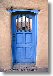 america, blues, desert southwest, doors, indian country, new mexico, north america, pueblos, southwest, united states, vertical, western usa, photograph
