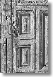 america, architectures, black and white, desert southwest, doors, indian country, new mexico, north america, santa fe, southwest, united states, vertical, western usa, white, photograph