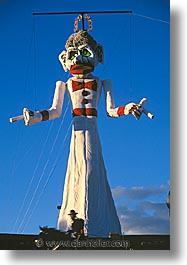 america, desert southwest, indian country, marionette, new mexico, north america, santa fe, southwest, united states, vertical, western usa, photograph