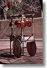 america, carts, desert southwest, indian country, new mexico, north america, peppers, santa fe, southwest, united states, vertical, western usa, photograph