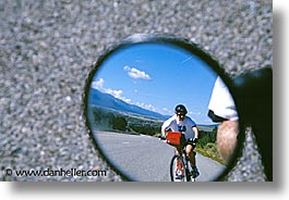 america, bikers, desert southwest, horizontal, indian country, mirrors, new mexico, north america, southwest, united states, western usa, photograph