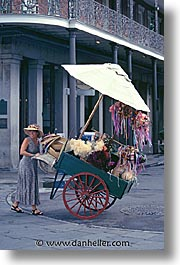 america, carts, new orleans, north america, orleans, united states, vertical, photograph