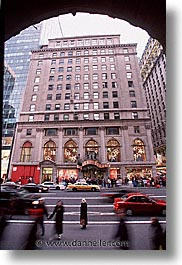 america, avenue, disney, new york, new york city, north america, stores, united states, vertical, photograph