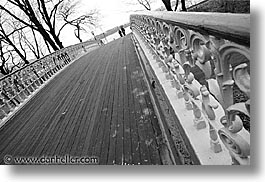 america, black and white, bridge, central park, diagonal, horizontal, new york, new york city, north america, united states, photograph