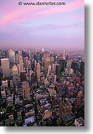 america, cityscapes, dusk, new york, new york city, north america, united states, vertical, photograph