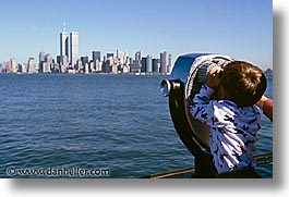 america, cityscapes, horizontal, looking, new york, new york city, north america, out, united states, photograph