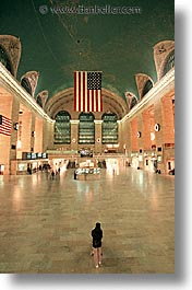 america, central, grand, grand central, new york, new york city, north america, united states, vertical, photograph