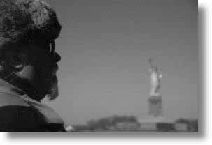 america, black and white, horizontal, immigrant, liberty, new york, new york city, north america, united states, photograph