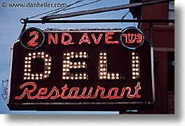 america, avenue, deli, horizontal, neighborhoods, new york, new york city, north america, united states, photograph