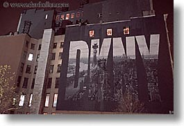 america, dkny, horizontal, murals, neighborhoods, new york, new york city, north america, united states, photograph