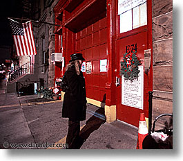 america, fire, horizontal, neighborhoods, new york, new york city, north america, stations, united states, photograph