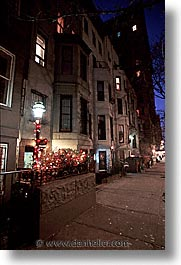 america, christmas, decor, neighborhoods, new york, new york city, north america, united states, vertical, photograph