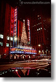 america, nbc, new york, new york city, nite, north america, rock center, united states, vertical, photograph