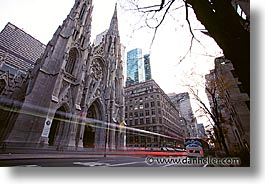 america, exteriors, horizontal, new york, new york city, north america, pats, st patricks, united states, photograph