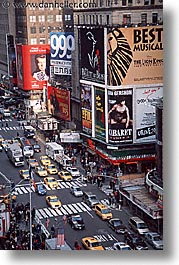 america, new york, new york city, north america, times square, united states, vertical, photograph