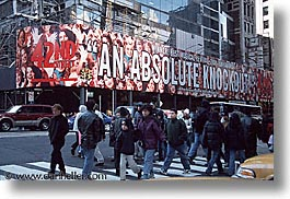 america, horizontal, new york, new york city, north america, times square, united states, photograph