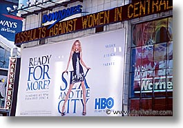 america, billboards, horizontal, new york, new york city, news, north america, times square, united states, photograph