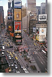 america, new york, new york city, north america, squares, times, times square, united states, vertical, photograph
