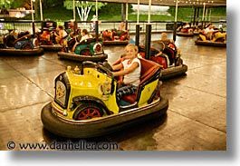 america, amusement park, bumper, cars, cedar point, fun, games, horizontal, north america, ohio, rides, sandusky, slow exposure, united states, photograph