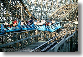 america, amusement park, cedar point, fun, games, gemini, horizontal, north america, ohio, rides, sandusky, united states, photograph
