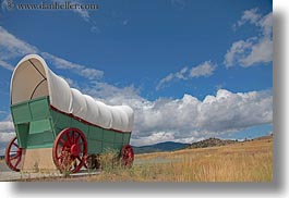 america, baker city, giants, horizontal, north america, oregon, stage coach, transportation, united states, photograph