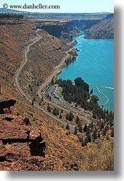 america, bill chinook, cove palisades, lakes, north america, oregon, united states, vertical, photograph