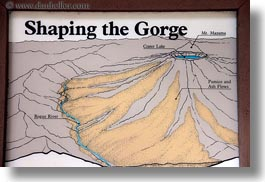 america, gorge, horizontal, interpretive, north america, oregon, posters, rogue, rogue gorge, united states, photograph
