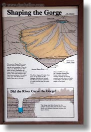 america, gorge, interpretive, north america, oregon, posters, rogue, rogue gorge, united states, vertical, photograph